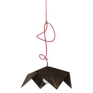 Origalampe 1 rouillée