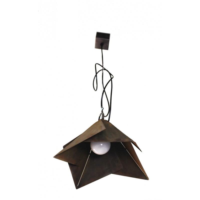 origamie lampe fleur