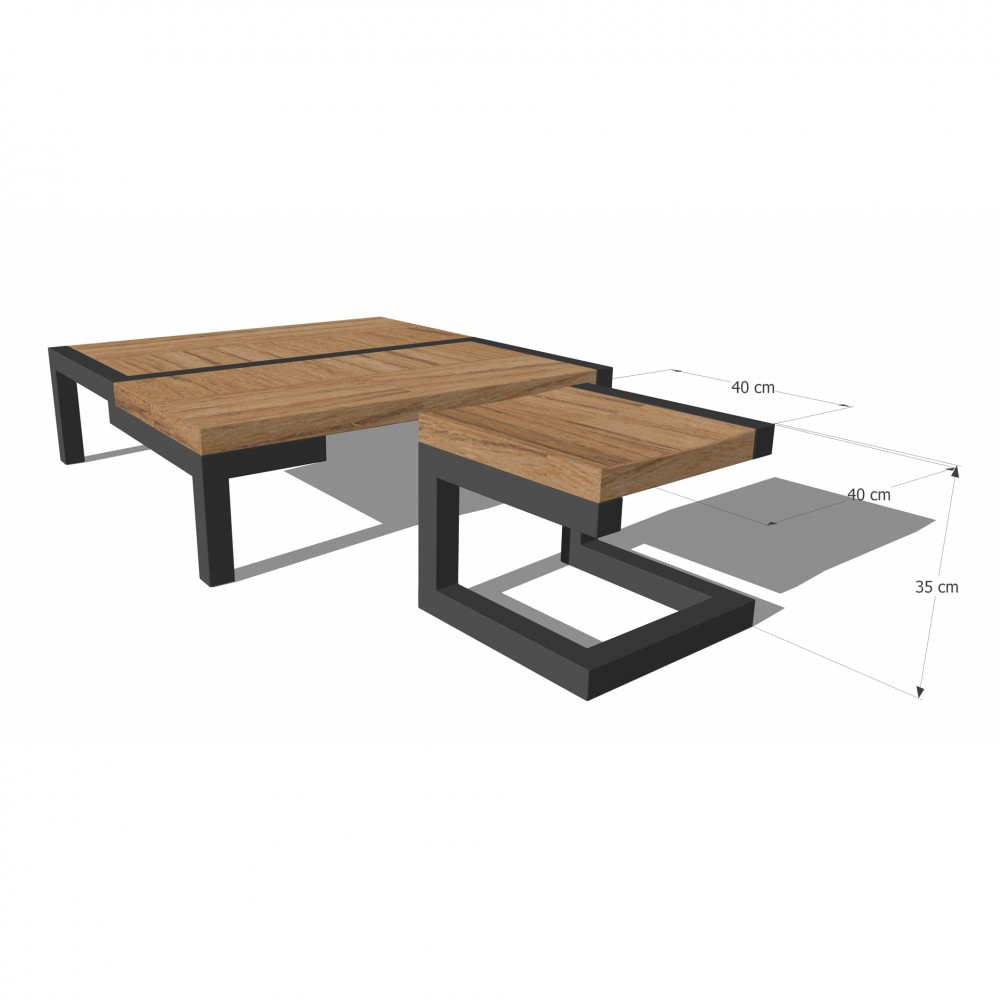 Table basse no niveau creatine shop - Table basse luxe design ...